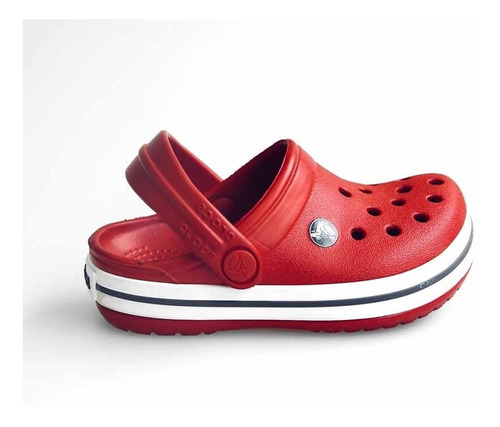 crocs originales crocband kids rojo ni¿os nenes