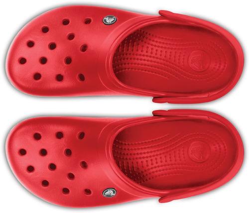 crocs originales crocband rojo unisex hombre mujer