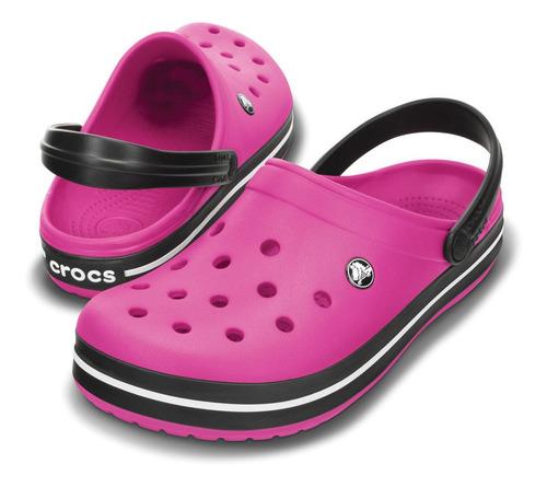 crocs originales crocband rosa unisex hombre mujer