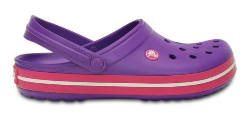 crocs originales crocband violeta unisex hombre mujer