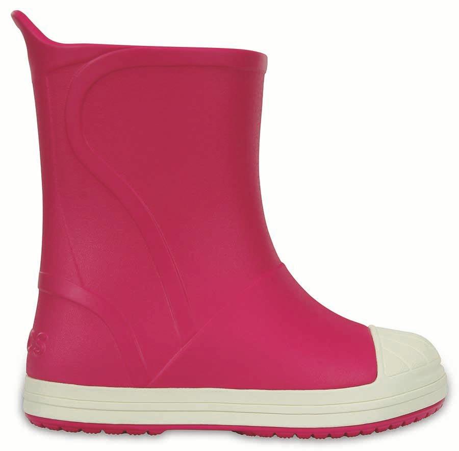 ccfaa9f7555 crocs originales crocs bump it boot rosa niñas 6mi. Cargando zoom.