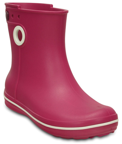 crocs originales jaunt shorty boot w rosa mujer 675