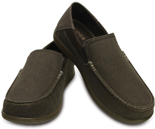 crocs originales santa cruz 2 luxe m marrón