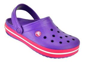 Sueco Sandalia Originales Crocband Violeta Promo Crocs 6Ybygf7