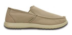 100Originales Clean Santa Cruz Loafer Cut Crocs 35RL4jA