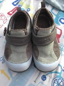 en venta nueva colección rebajas(mk) Crocs Tipo Panchas Con Piel Importadas