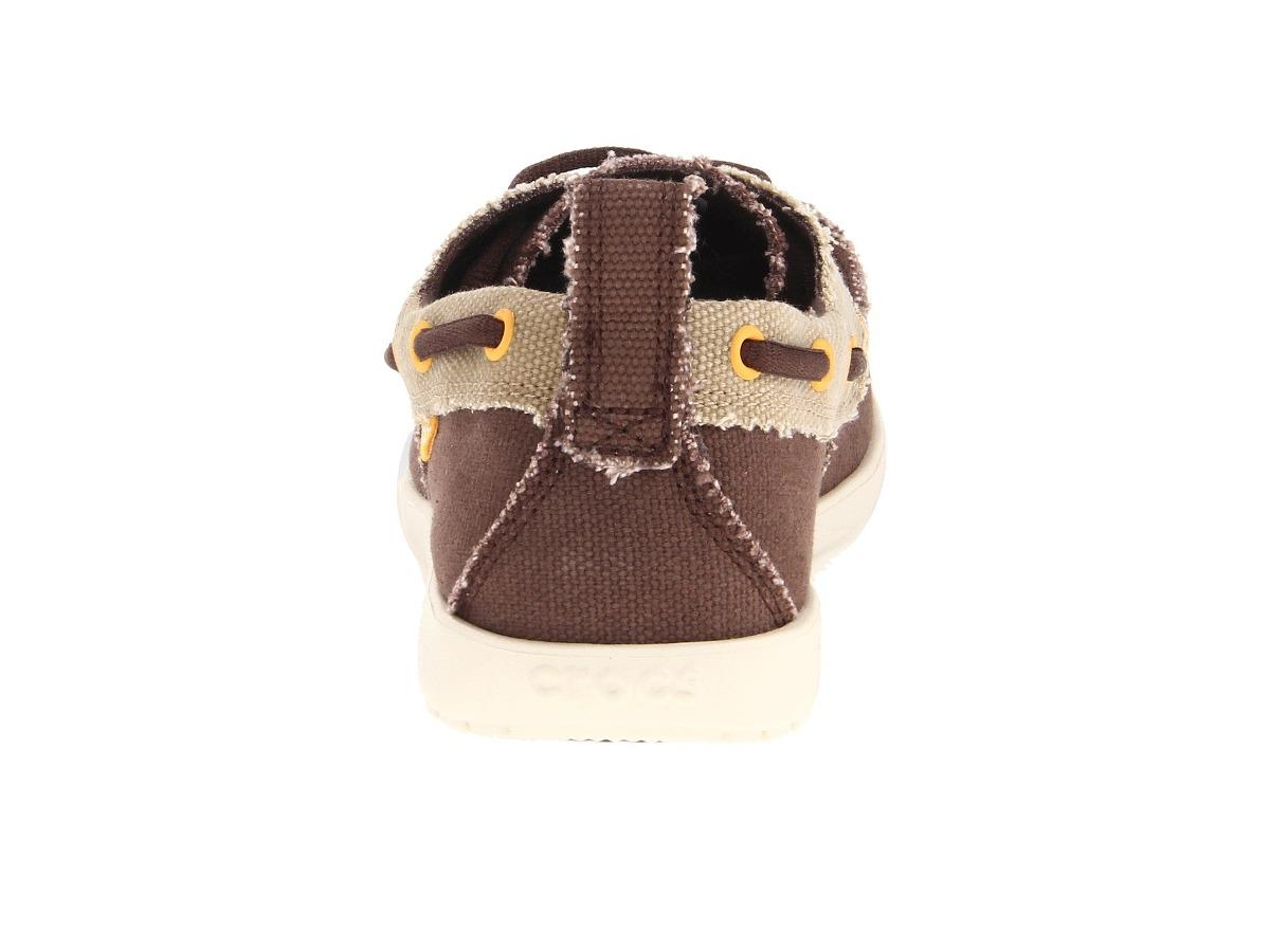 7662dbc2ec5 Crocs Walu Canvas Deck Shoe  30 -   850.00 en Mercado Libre