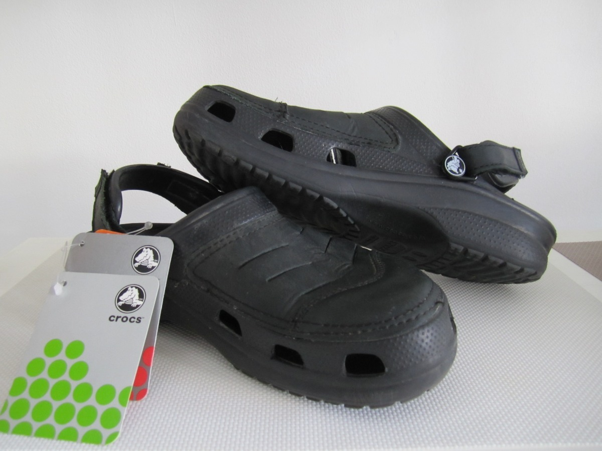 74afaadee96766 Crocs Yukon Clog Negras M8 (talle 40 41) Made In Mexico -   1.250