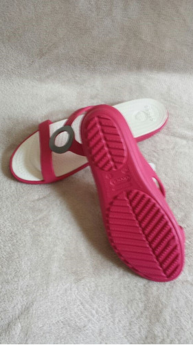 crocs zapatillas mujer talla 7 $50+ envio gratis