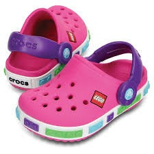 Para 700 Rosa Niña 00 Amyglo Crocs Zapatos Originales Color Lego tOp8Z