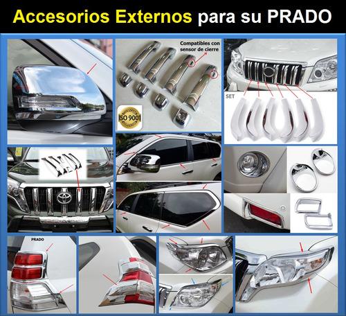 cromados y accesorios para toyota prado 2020 - 2010