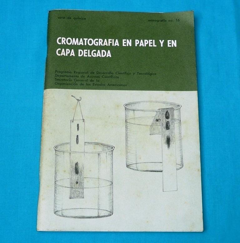cromatografía en papel y capa delgada domínguez oea ciencia