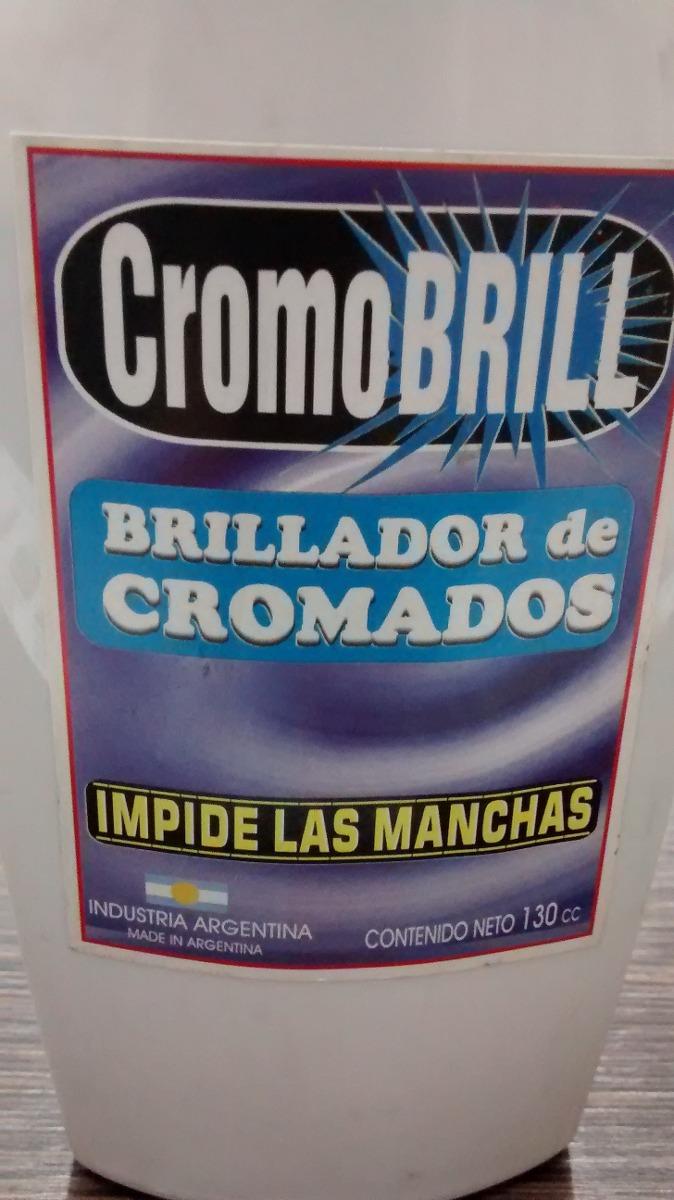 Cromo Brill Limpiador De Cromados Y Niquelados X 130 Cc 100 00  # Como Limpiar Muebles Niquelados