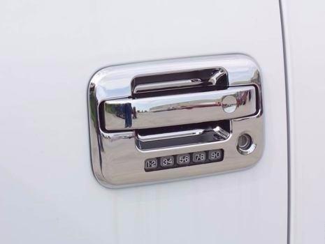 cromos de lujo ford f150 lobo cubre manijas 06-08 8 piezas