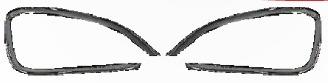 cromos de lujo hyundai santa fe exploradoras 13-14 2 piezas