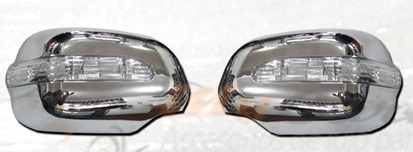 cromos de lujo toyota hilux vigo espejos luz 06-15 2 piezas