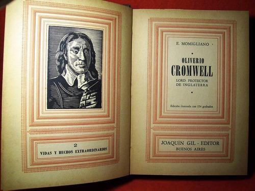 cromwell lord protector de inglaterra momigliano ilustrado