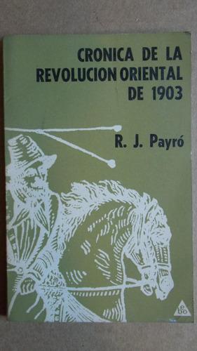 crónica de la revolución oriental de 1903, r j payró, ebo