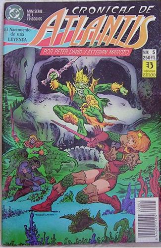 cronicas de atlantis n° 5 dc comics zinco
