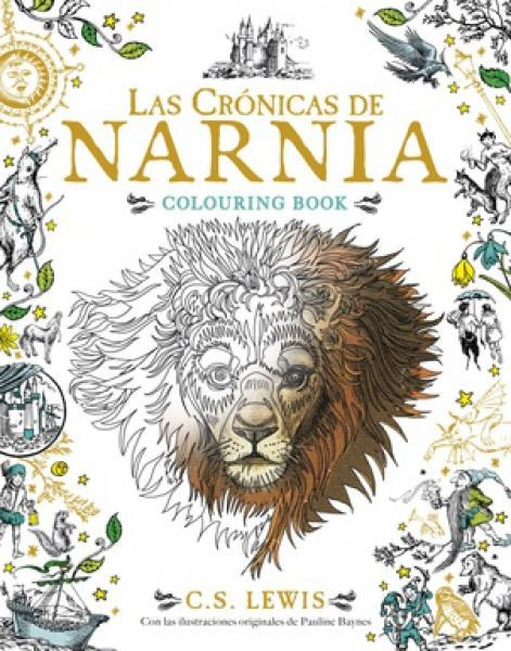 Cronicas De Narnia Colouring Book - C.s. Lewis - $ 440,00 en Mercado ...