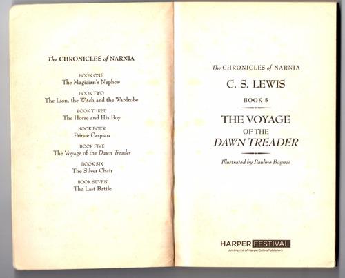 cronicas de narnia (novela original de c.s.lewis en ingles)