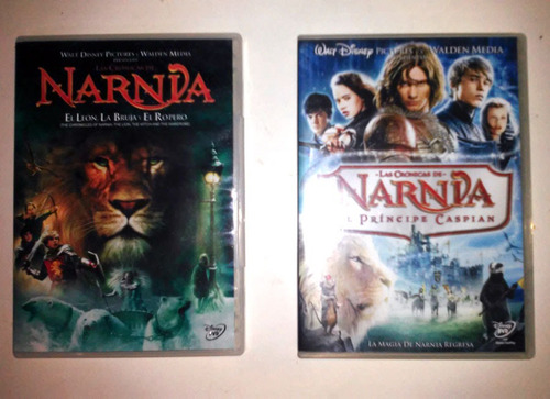 cronicas de narnia trilogía ( 3 dvd ) disney cinefans
