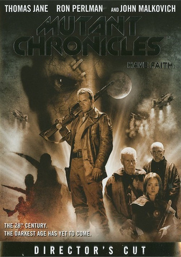 cronicas mutantes / mutant chronicles   dvd usa original