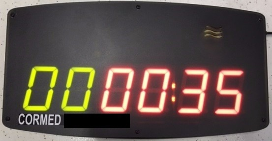 31d7281bc70 Cronômetro Academia Treino Luta Circuito Crossfitt Controle - R  369 ...