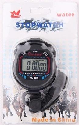 cronômetro de mão digital profissional relógio -frete grátis