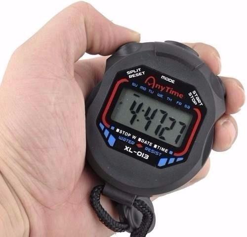 Cronômetro De Mão Digital Profissional Relógio Progressivo - R  21 ... e8eef2a69dbee