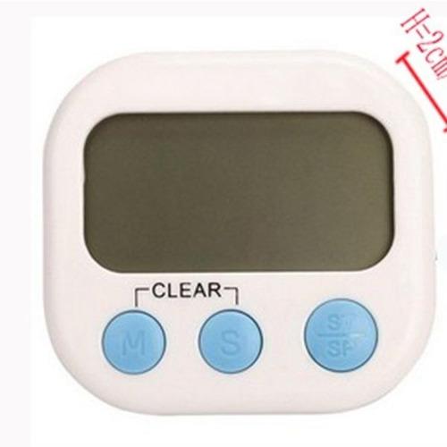 cronômetro digital de cozinha tela e números grandes