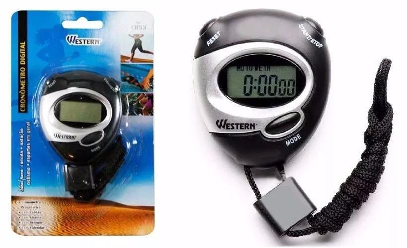 cronômetro digital de mão com relógio e data profissional. Carregando zoom. dc5890ebc3891