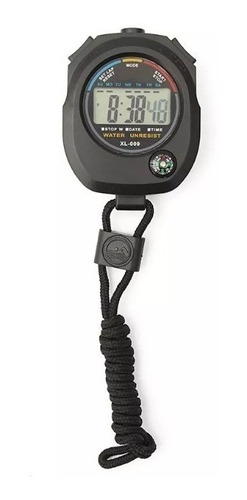 cronômetro digital lcd relogio alarme com bússola