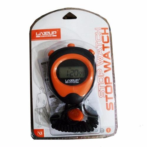 cronômetro liveup progressivo de mão digital com alarme
