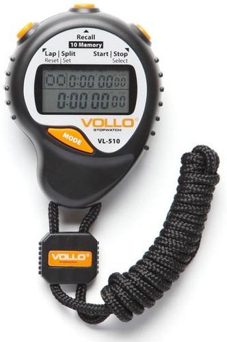 cronômetro profissional com alarme e relógio - vollo vl-510