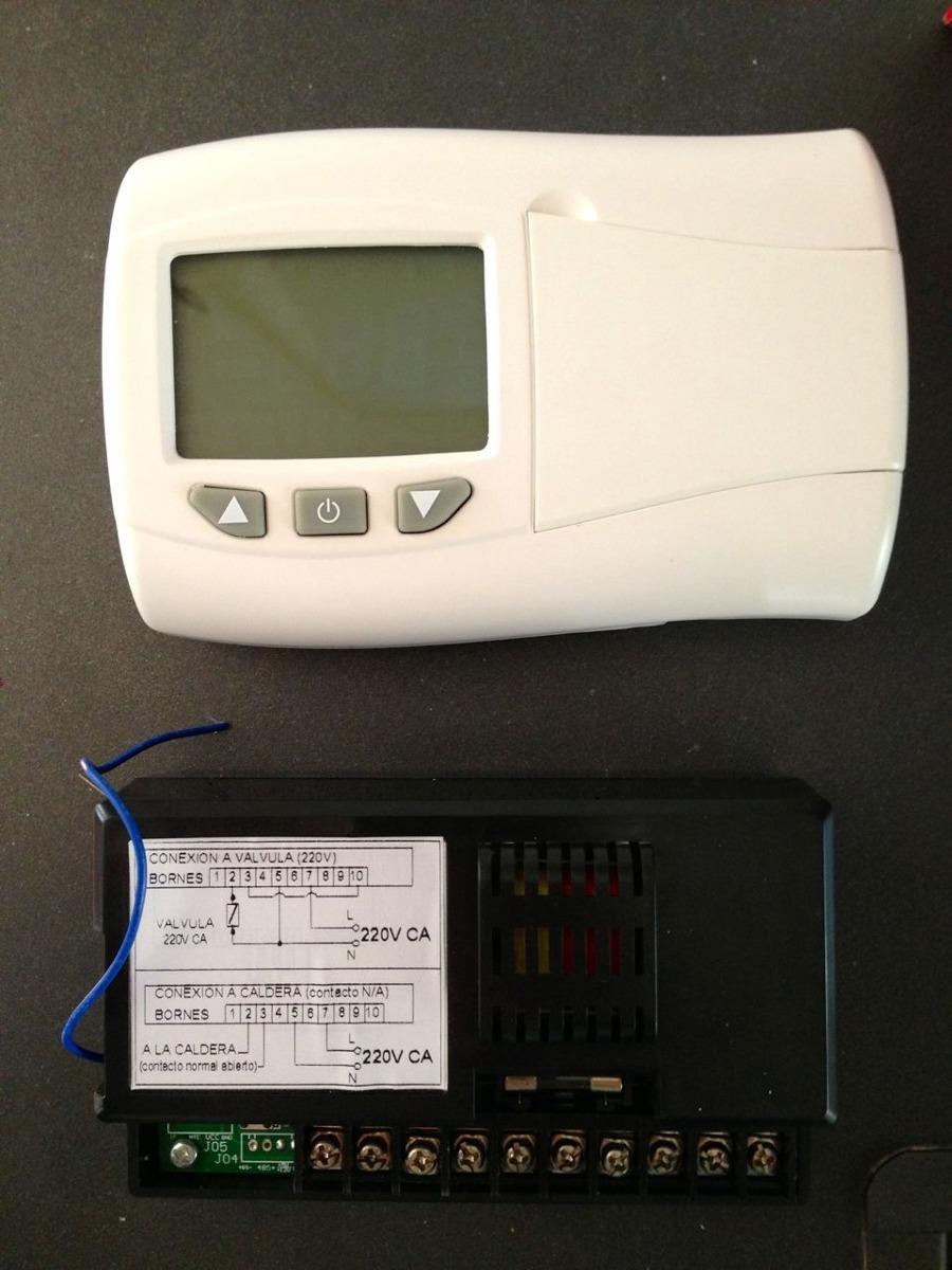 Como instalar un termostato inalambrico fabulous with - Programador calefaccion siemens ...