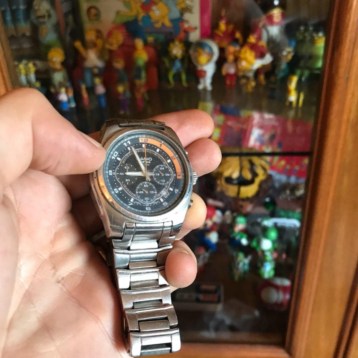 0d17d9700aca cronografo casio reloj pulsera de alta gama o rolex. Cargando zoom.