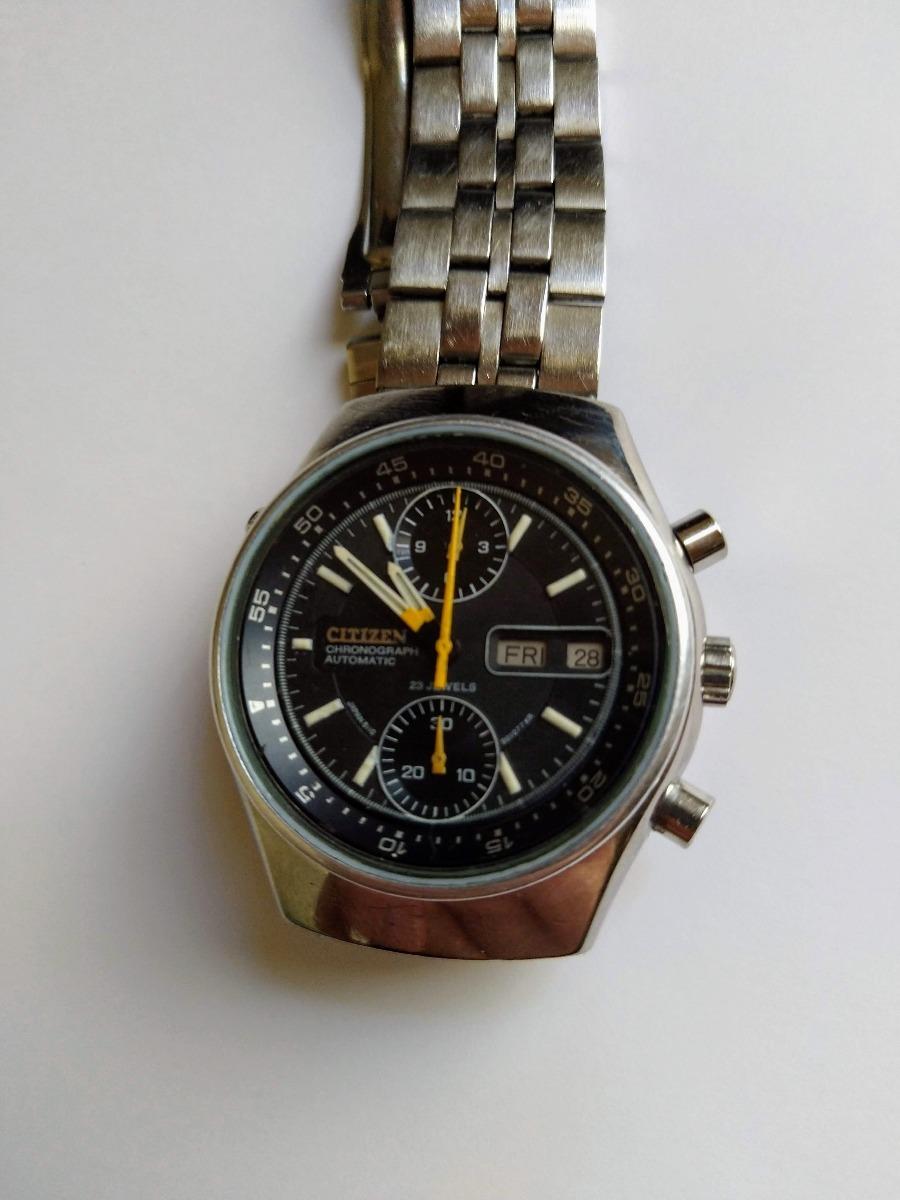 in vendita e6518 6c4a0 Cronógrafo Citizen Automático - Calibre 8110 - Impecable - $ 4,100.00