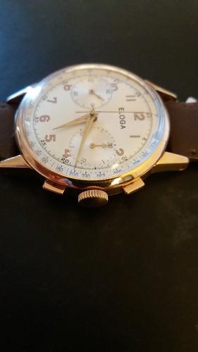 cronografo suizo eloga
