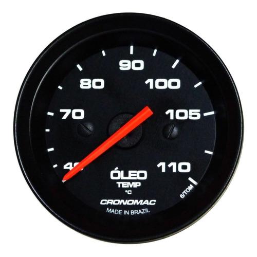 cronomac 52mm street - termômetro óleo mecânico 5m