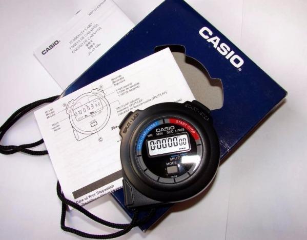 b53df1cbadff Cronometro Casio Hs-3 Digital Profissional Lap Split Wr - R  129
