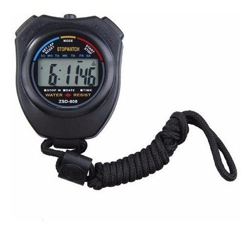 cronometro deportivo profesional lcd digital contador tempor