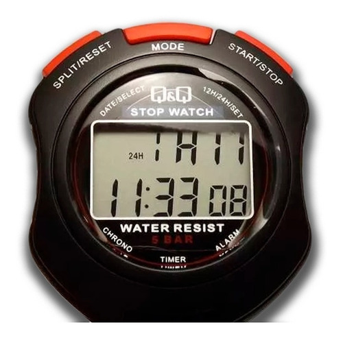 cronómetro deportivo q&q by citizen mod hs47 envío express