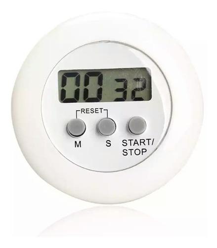 cronómetro digital alarma temporizador cocina
