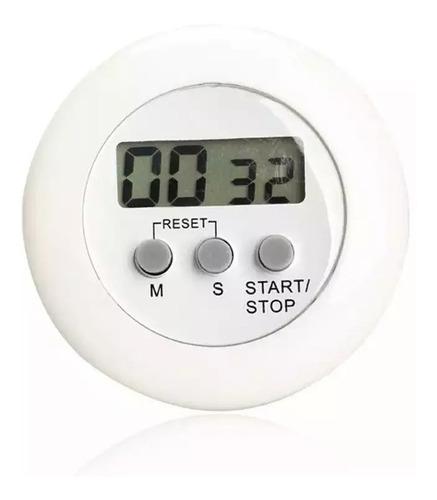 cronometro digital alarma temporizador cocina