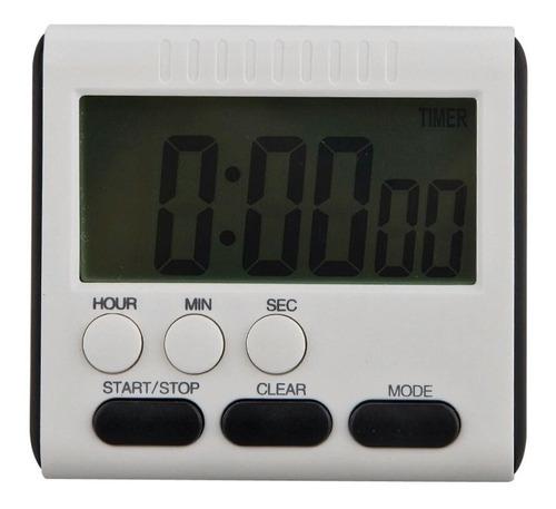 cronometro digital cocina temporizador alarma reloj