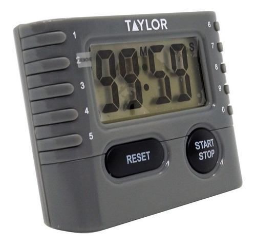 cronometro digital taylor  .75  rango de 99min  59 seg