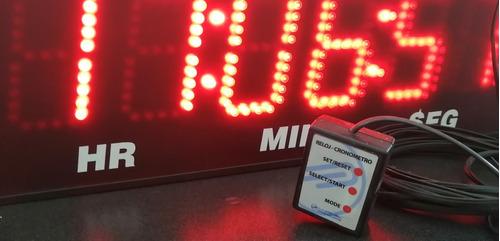 cronómetro para alberca o maratones