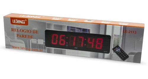 cronometro progressivo digital parede controle relógio e3