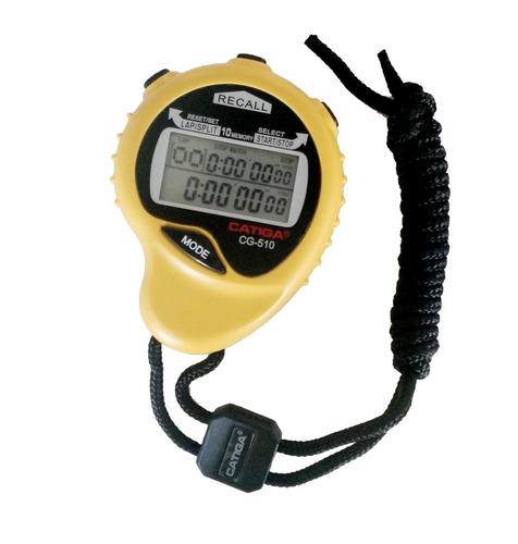 cronometro reloj alarm deportivo digital catiga 10 memorias